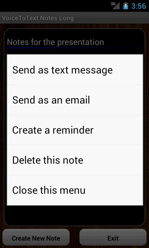 VoiceToText Notes Long - screenshot