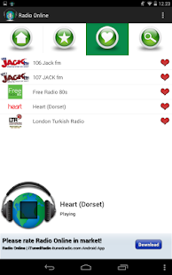 Radio FM via Internet- screenshot thumbnail