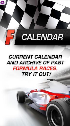 方程式赛车日历