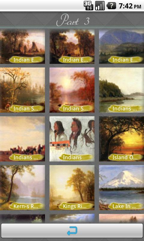Albert Bierstadt Art Wallpaper - screenshot
