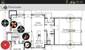 Screenshot of Photometer measures & notes