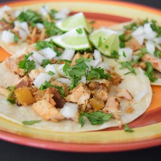 Tacos Al Pastor (marinated pork tacos)