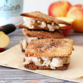 Apple Pie Ice Cream Sandwiches
