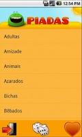 Screenshot of Piadas