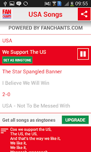 USA! USA! World Cup 2014 Songs- screenshot thumbnail
