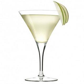 Cardamom Pear Martini