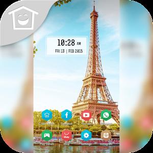 Eiffel Sunshine In Paris Theme