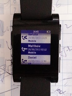 Dialer for Pebble- screenshot thumbnail