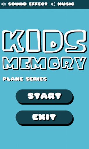 Kids Memory Plane Series