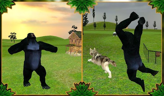 angry gorilla attack simulator android apps on google play