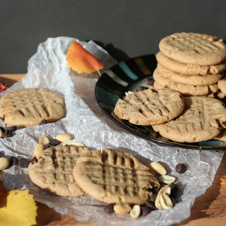 Chewy Pumpkin Peanut Butter Cookies.