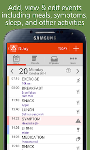 mySymptoms Food Diary- screenshot thumbnail