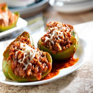 Easy Italian Stuffed Peppers
