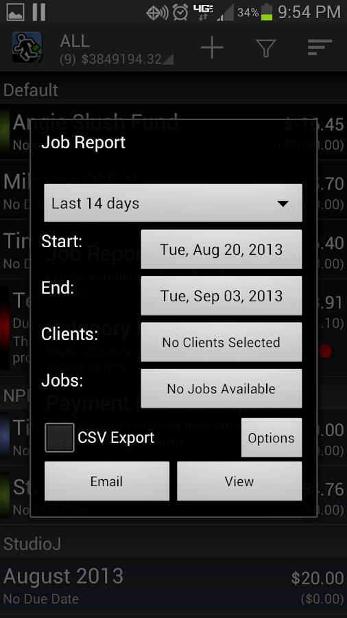 Expense Manager by BluJ IT- screenshot