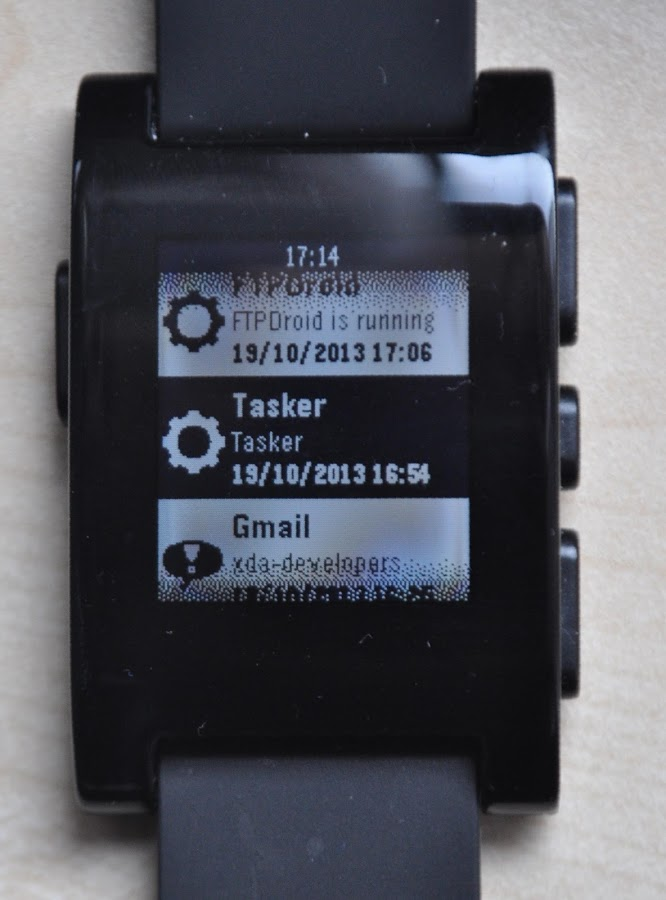 Notification Center for Pebble - screenshot