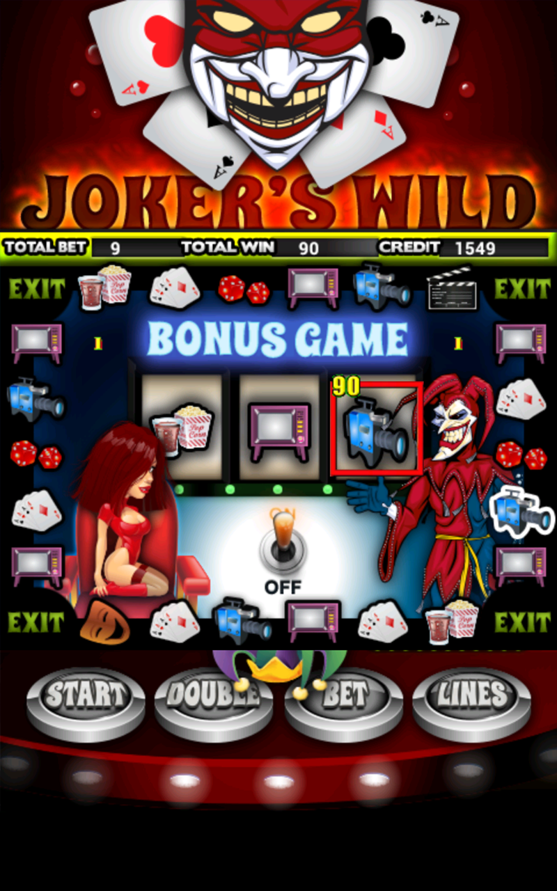 Jokers Wild Slot Machine HD screenshot #7