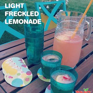 Light Freckled Lemonade.