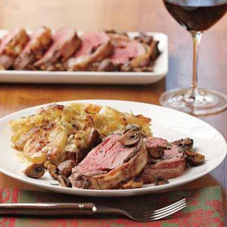 Bacon-Wrapped Beef Tenderloin Roast