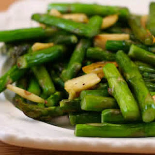 Roasted Asparagus and Garlic
