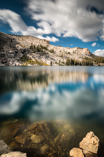 May Lake by Adam Collins - Landscapes Mountains & Hills ( reflection, tuolumne, yosemite, yosemite high sierra camp, may lake )