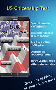 【免費教育App】US Citizenship Test Prep 2014-APP點子