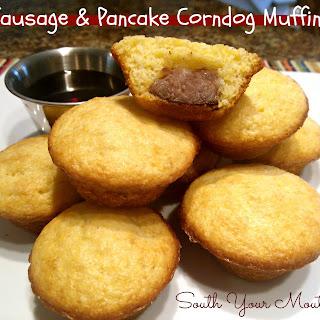 Sausage & Pancake Corndog Muffins.