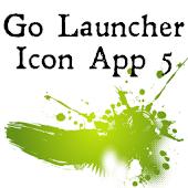 Icon App 5 Go Launcher Ex