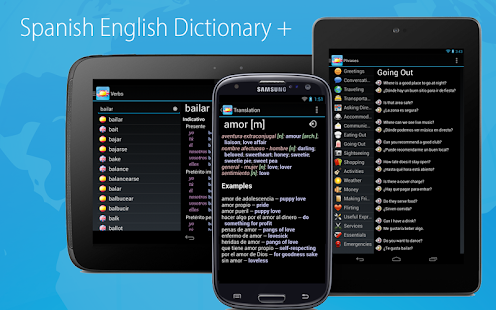Spanish English Dictionary- screenshot thumbnail