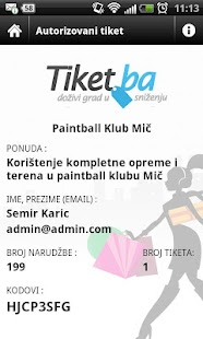 Tiket.ba - screenshot thumbnail
