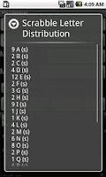 Screenshot of Word Finder Scrabble Solver