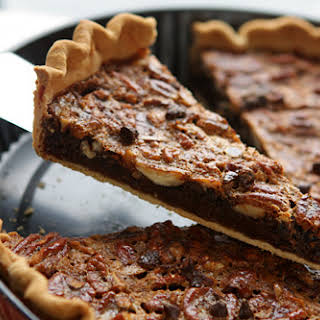 Chocolate Pecan Pie.