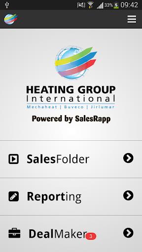 Heating Group SalesRapp