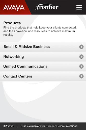 Avaya Frontier Sales Assistant