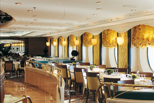 MSC-Opera-La-Caravella - For traditional refined fare, head to La Caravella, one of two main dining rooms aboard MSC Opera.