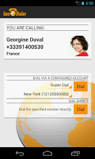 Calling Card GeoDialer+ - screenshot thumbnail