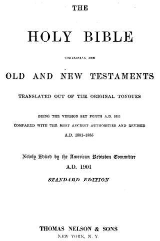 American Standard Bible ● FREE