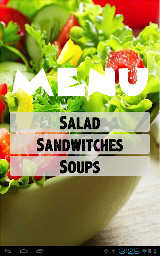 Salad Bar eMenu Pro