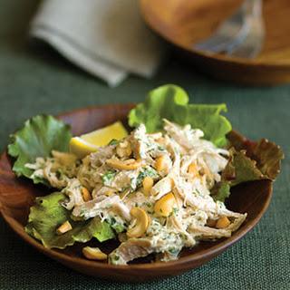 Lemon Cashew Chicken Salad.