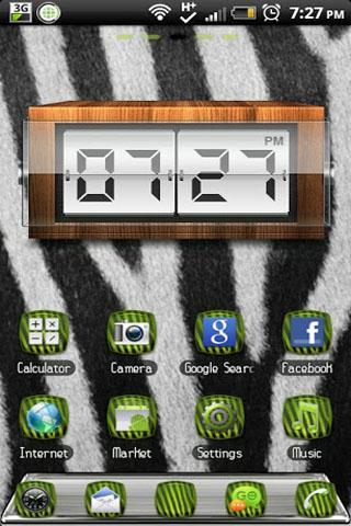 玩個人化App|THEME - Green Zebra免費|APP試玩