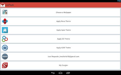 IcoPack (Nova|Apex|Go|ADW) 7.5 APK
