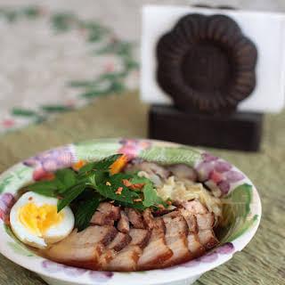 Pork Asado Noodle Soup.