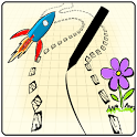 Scribble Racer☆Fun Simple Game icon