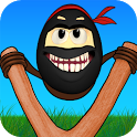 Crazy Ninja Egg: Clumsy Jump icon