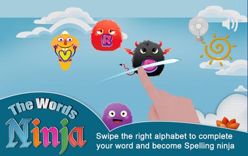 Words Ninja Spelling Learning