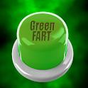 Green Fart Button icon