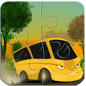 Cars &Trucks-Puzzles for Kids icon