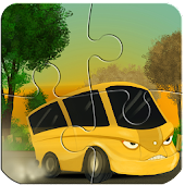 Cars &Trucks-Puzzles for Kids