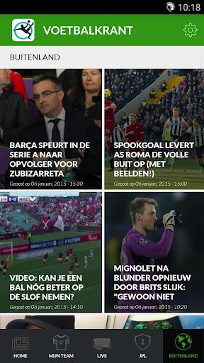 Voetbalkrant