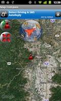 Screenshot of Map Compass