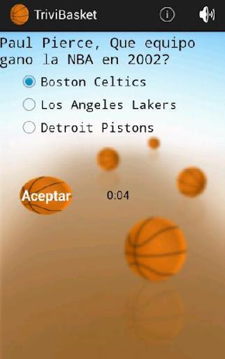 TriviBasket juego de basket